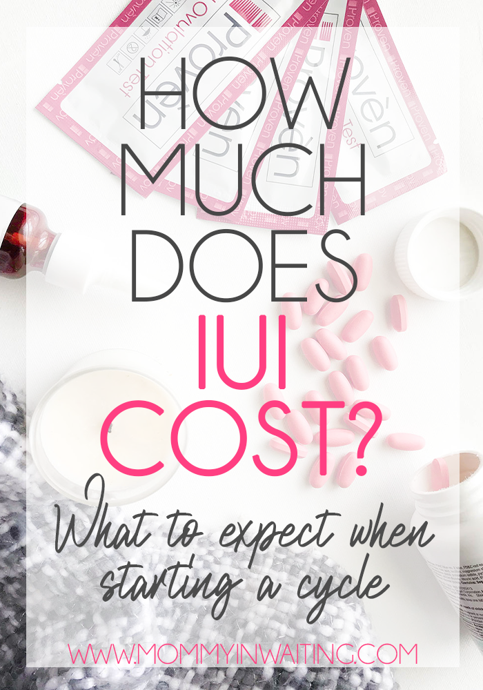 How Much Does IUI Cost? - Mommy in Waiting