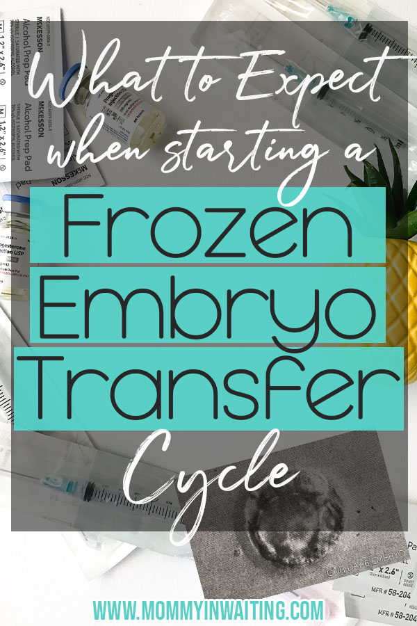 Frozen Embryo Transfer Timeline | Our Experience | Mommy in