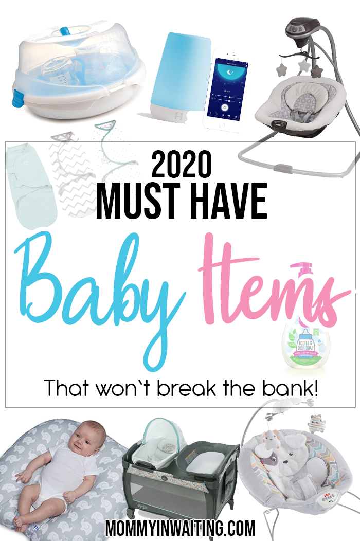 Must have baby items in 2020. Having a baby? What are the best baby items to register for? In this detailed list, I share my must have newborn items from my personal experience! mommyinwaiting.com